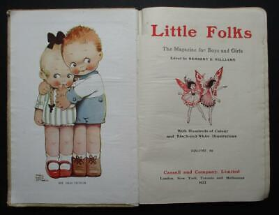 £20 • Buy LITTLE FOLKS 1922 ILLUSTRATED Harry Rountree Ernest Aris Mabel Lucie Attwell Etc