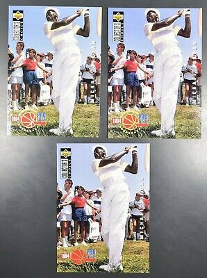 $2.99 • Buy Michael Jordan 1994-95 Upper Deck Collectors Choice Pro Files Golf Card 204 LOT