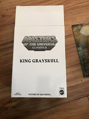 $21.50 • Buy Motu  Classics King  Grayskull Used Opened With All Packaging Great Shape