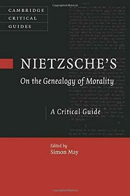 Nietzsche's On The Genealogy Of Morality: A Critical Guid New Paperback Book • 23.46£