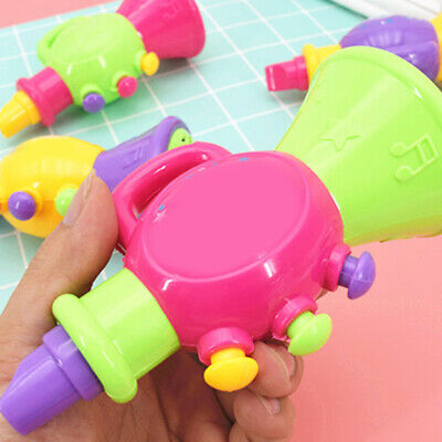 Kindergarten Colorful Kids Baby Horn Hooter Trumpet Instruments Music Toys • 5.82£