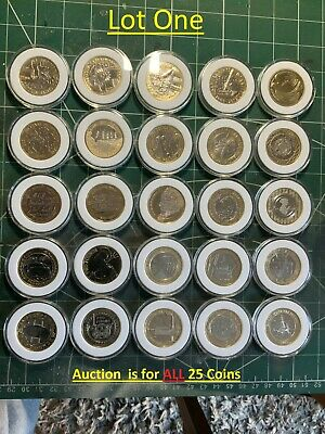 £2 Pound Coin Job Lot Of 25 Coins • 87£