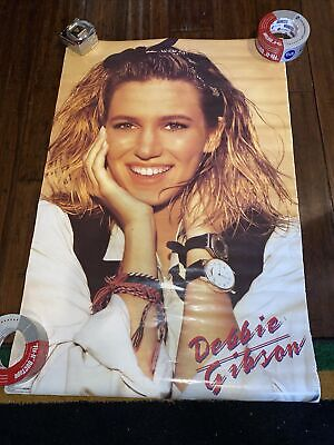 £14.39 • Buy Debbie Gibson Vintage Original 1989 Poster Rare 80s Music Vtg Electric Youth