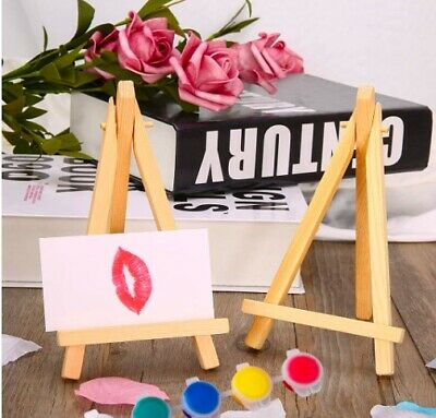 Mini Wooden Easel, Crafts, Painting, Wedding Table Number Easel. NEW • 2.40£