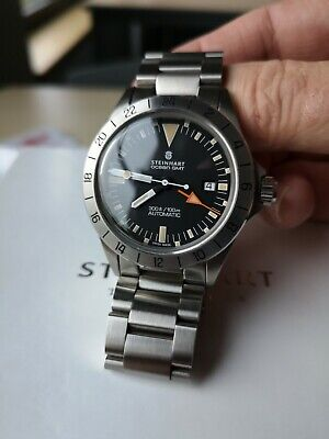Steinhart Vintage GMT Automatic Watch 1 Of 199 RARE 'Steve McQueen' • 895£