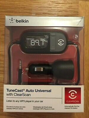 Belkin TuneCast Auto Universal With Clear Scan • 15£
