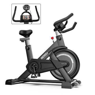 OTF Black Exercise Bike Home Gym Bicycle Cycling Cardio Fitness Training Indoor • 204.99£