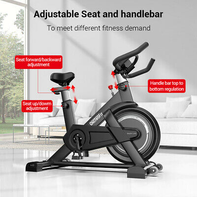 Heavy Duty Home Gym Exercise Bike Fitness Cardio Workout Machine Indoor Training • 204.99£