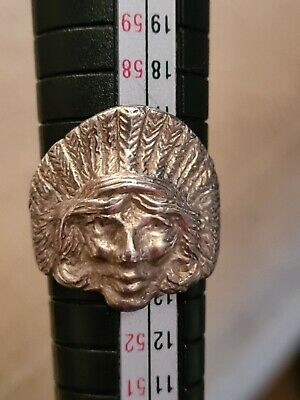 £30 • Buy Silver Indian Head Ring