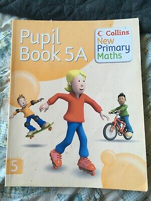 New Primary Maths - Pupil Book 5A  (Paperback, 2008) Harper Collins • 1.99£