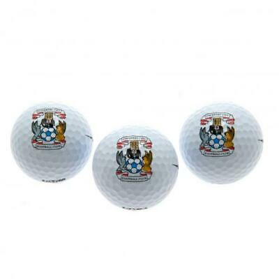 £10.99 • Buy Coventry City FC Golf Balls Official Merchandise
