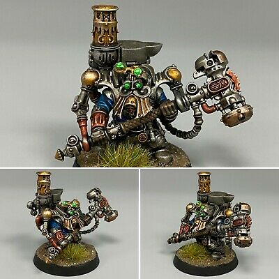 AU107.90 • Buy Kharadron Overlords Endrinmaster Painted Warhammer Age Of Sigmar Dwarfs