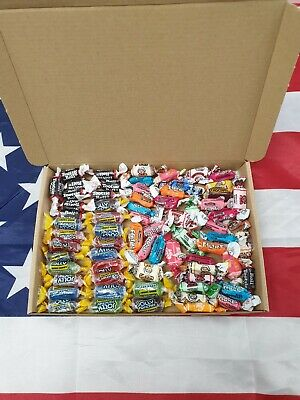 £6.50 • Buy 70 Items American Sweets Gift Box - USA Candy Hamper - TOOTSIE- JOLLY RANCHER 😋
