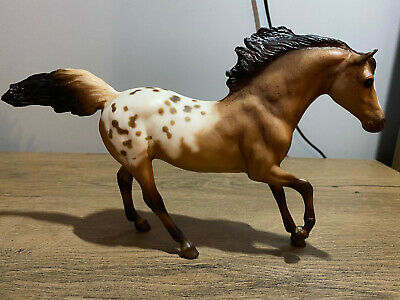 Breyer Dun Appaloosa #676 Classic 2003-2004 Andalusian Stallion Retired • 13£