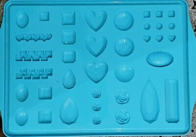 Pebeo Silicone Resin Mould- 30+ Gems To Make. • 6£
