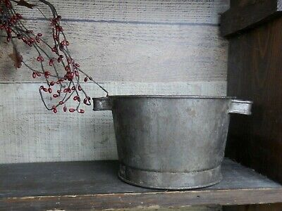 $ CDN35.58 • Buy Antique Small Tin Sifter With Handles 4 1/4  Tall