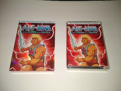 $60 • Buy He-Man And The Masters Of The Universe: The Complete Original Series (DVD, 16-D…