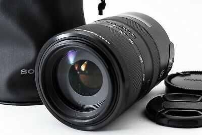 AU379.58 • Buy  Read  SONY SAL70300 70-300mm F/4.5-5.6 SSM A Mount Lens Excellent From Japan