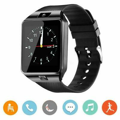 AU18.49 • Buy Smart Watch Bluetooth Camera Phone Mate GSM SIM For Android IOS IPhone Samsung