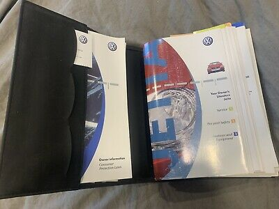 $13.95 • Buy 2005 / 2005.5 Volkswagon Jetta Complete Owners Manual *free Shipping*