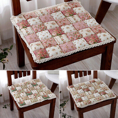 AU15.45 • Buy Tie-On Chair Cushion Seat Pad Dining Room Kitchen Office Soft Patio Pillow