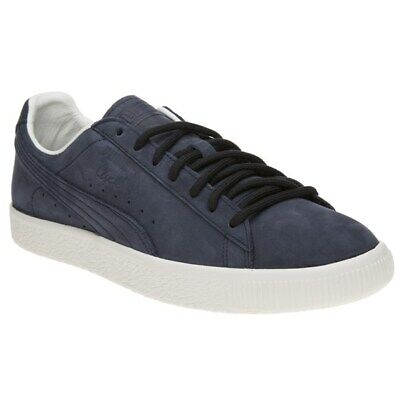 Puma Mens Clyde Frosted Skate Trainers Blue • 46£