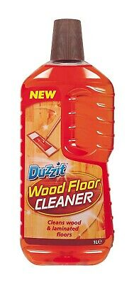 Wood Floor Cleaner 1Litre Dirt Remover Laminate Varnish Camomile NO Residues • 5.19£