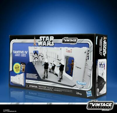 $ CDN88.36 • Buy Star Wars The Vintage Collection 3.75  Tantive IV Hallway Playset Diorama New