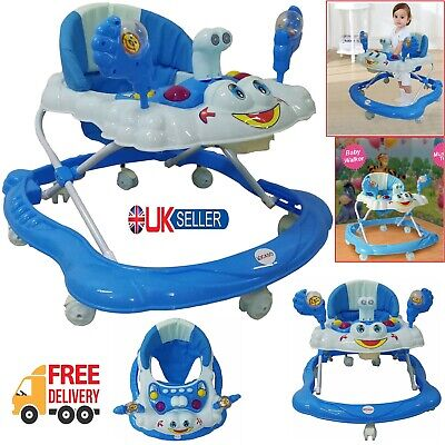 £39.75 • Buy Baby Girl/Boy Walker Push Bouncer Activity Musical Melody Toy Along Ride On New