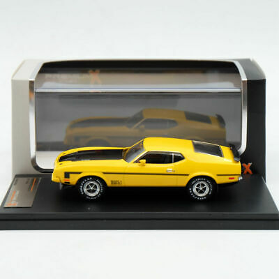 £29.50 • Buy Premium X 1/43 Ford Mustang Mach 1 1971 Yellow PRD397J Diecast Models Limited