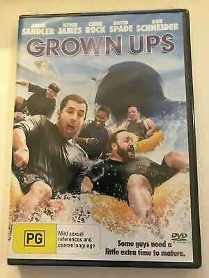 AU14.99 • Buy New & Sealed Grown Ups DVD Adam Sandler Kevin James Chris Rock David Spade