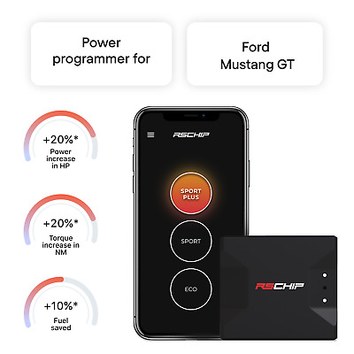 $249 • Buy RSCHIP Ford Mustang GT Tuning Chip Power Programmer Performance Tuner OBD2