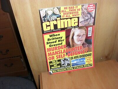 £3.99 • Buy True CRIME  DETECTIVE MONTHLY  FEBRUARY 2021 FREE UK POST