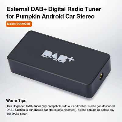 Pumpkin Digital External DAB+ Box Radio Tuner Adapter For All Android Car Stereo • 48.88£