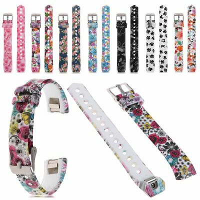 AU4.46 • Buy Stainless Steel / Silicone Wrist Band Strap Bracelet For Fitbit Alta HR