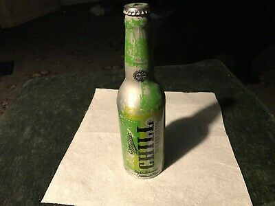 $24.99 • Buy Hard To Find Miller Chill Chelada Style 16 Oz Aluminum Empty Beer Bottle.