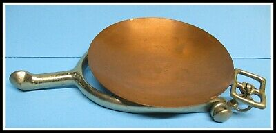 $80 • Buy Military Offiers Spur Ashtray Copper Bowl AB US Marked Rare Item
