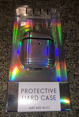 $ CDN12.02 • Buy For Apple AirPods 2&1 Gen Iridescent Protective Case Cover W/ Carabiner Keychain