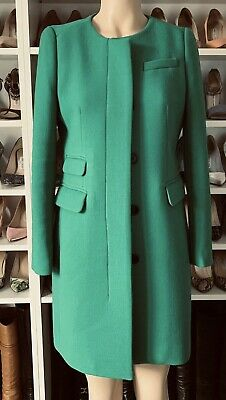 AU349 • Buy J. Crew Symphony Green Double Cloth Wool Coat Jacket $700+ Sold Out