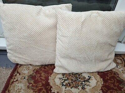 2x Soft  Cushions With Covers Home Decorative Sofa Car Throw Pillow Case • 4£