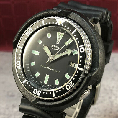 $ CDN403.44 • Buy VINTAGE SEIKO 150m DIVER 7002-700A Automatic Watch With Protector From Japan#411