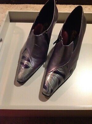 Orlando Ladies Shoe Size 6 Pewter Brand New Immaculate In Original Box  • 40£