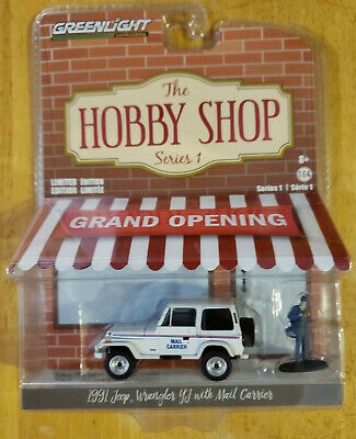 $9.99 • Buy Greenlight Collectibles Hobby Shop Series 1 1991 Jeep Wrangler YJ W Mail Carrier