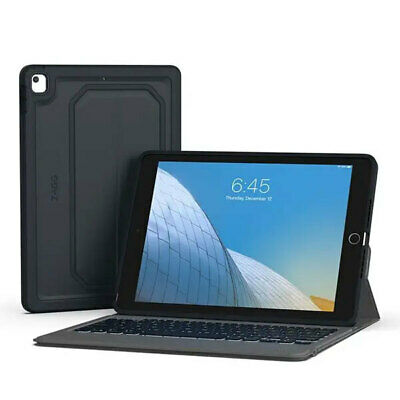 AU149.95 • Buy ZAGG Rugged Messenger Case Cover W/ Built-In Keyboard For Apple IPad 10.2  Grey