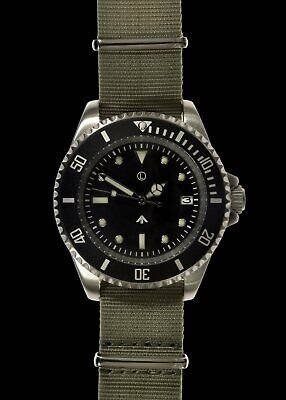 $ CDN211.99 • Buy MWC 300m / 1000ft Stainless Steel Quartz Military Divers Watch