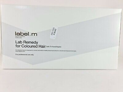 $13.79 • Buy Label.m Lab Remedy For Coloured Hair 24 X 10ml
