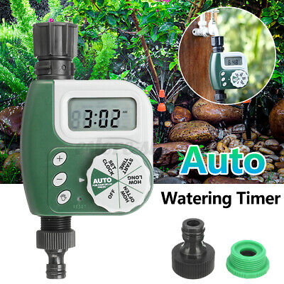 Electronic Automatic Watering Timer Irrigation Hose Garden Water Controller I • 17.45£