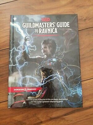 AU38.26 • Buy Dungeons & Dragons 5th Edition Guidlmaster's Guide To Ravnica Handbook