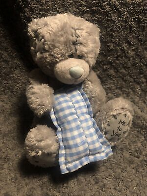 £5.99 • Buy Small Me To You Part Bean Filled Soft Toy Teddy Bear Holding A Pillow