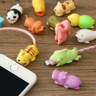 USB Cable Protector Wire Animal Bite Charger Saver For IPhone Android Protection • 1.99£